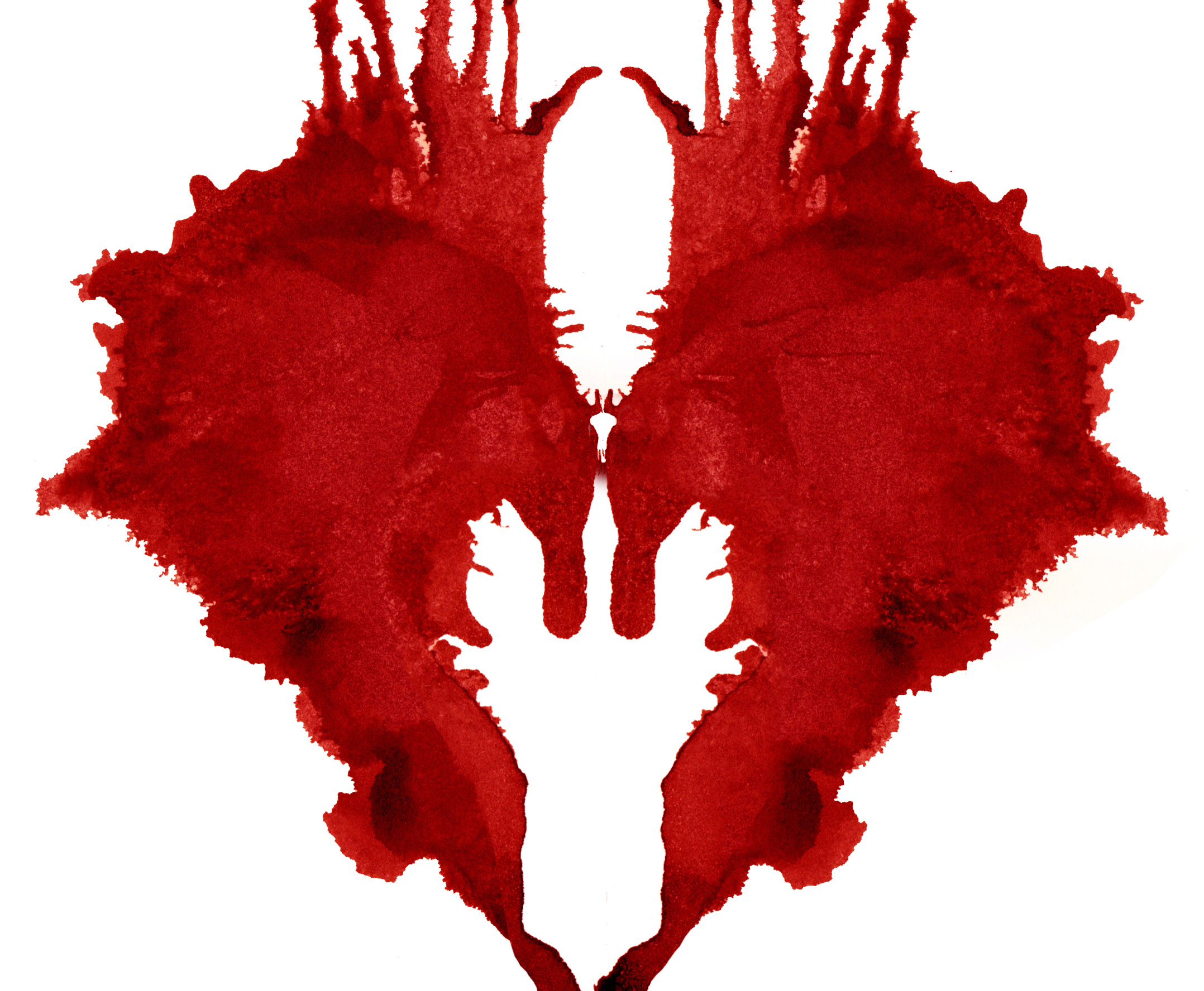 image from a poster of Romeo and Juliet of a bloody heart