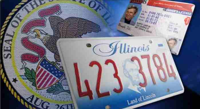 images for the state of Illinois DMV.