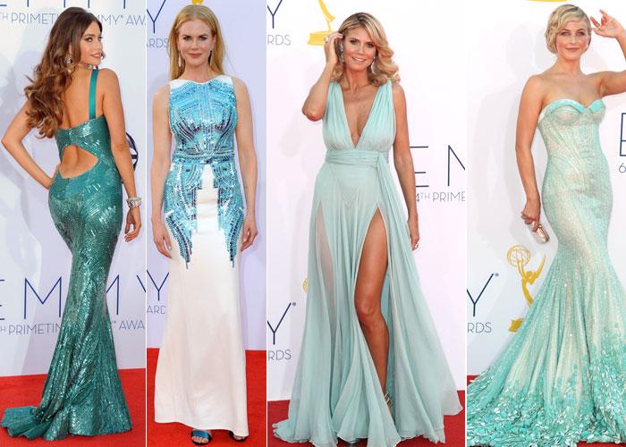 image of women in dresses.