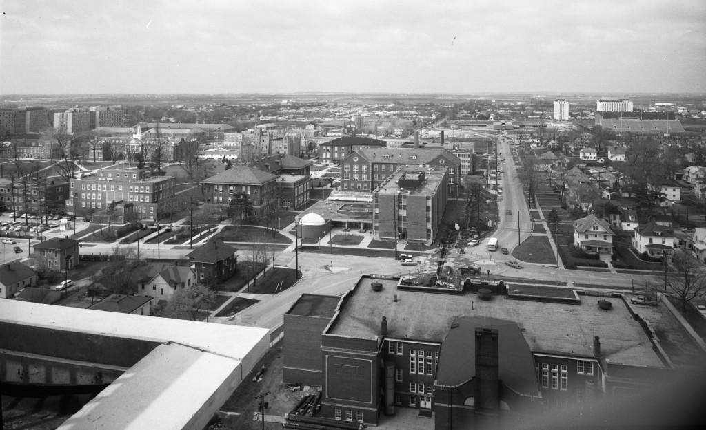 College Avenue in 1966