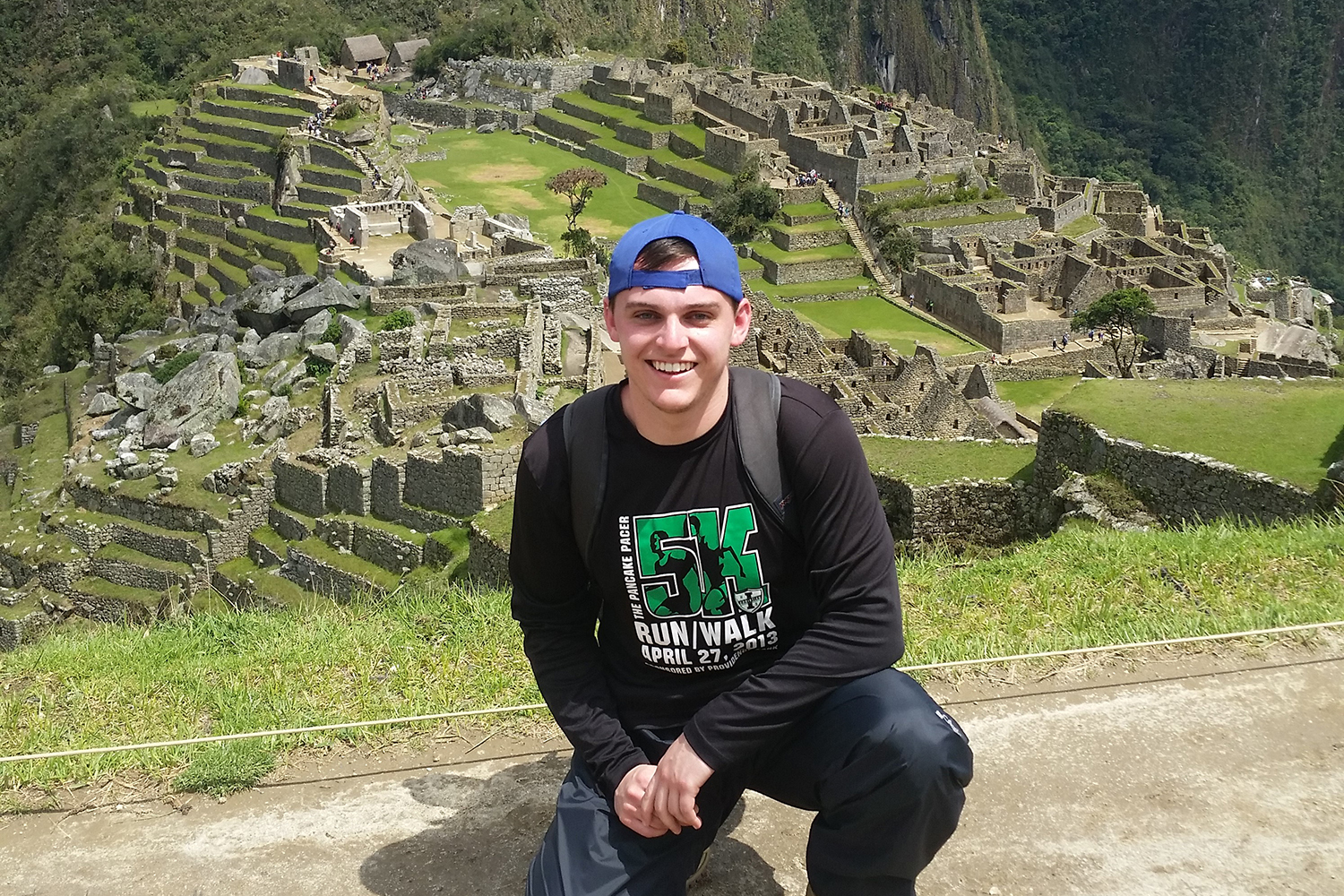 Ethan Witting in Peru