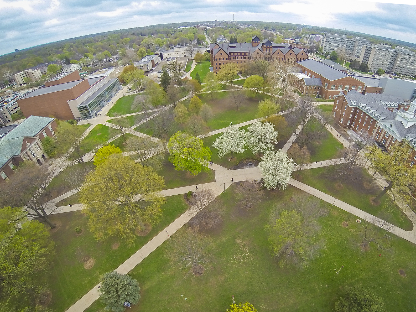 image of the ISU Quad