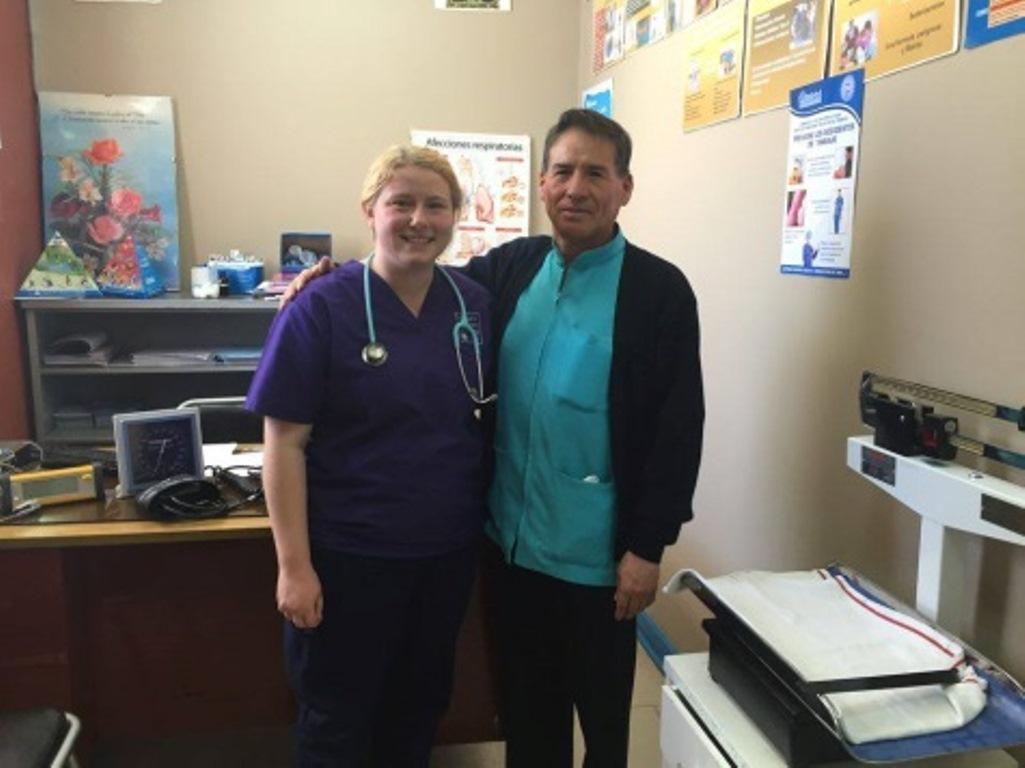 Nursing students spend spring break volunteering in Peru.