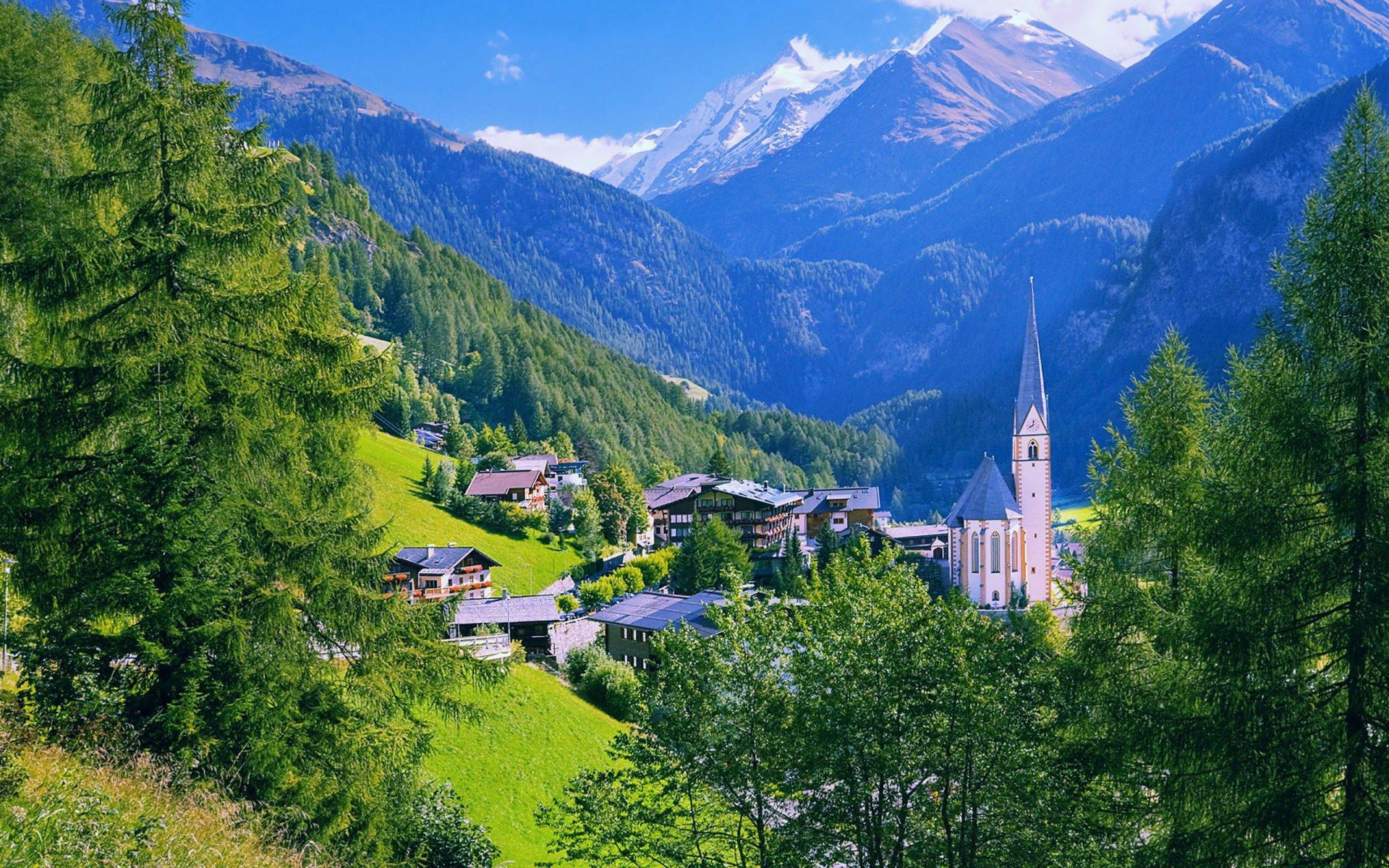 Image of the Austrian alps