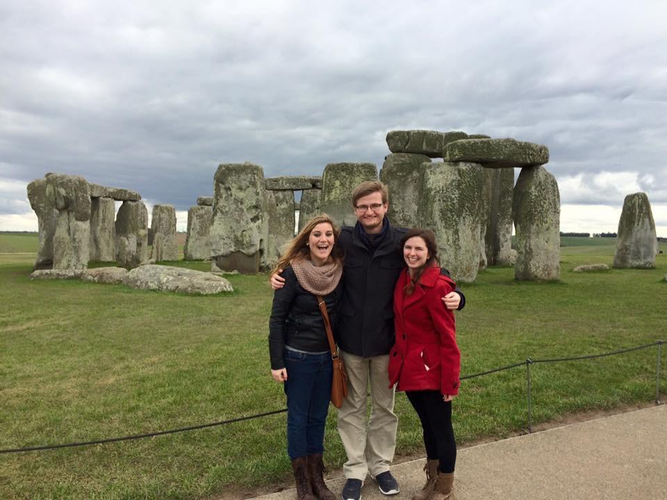 Jessica McKenzie at Stonehenge