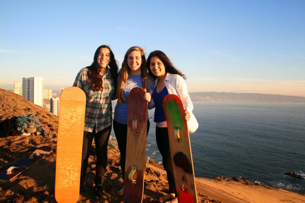 image of Students at Pontificia Universidad de Catolica de Valparaiso.