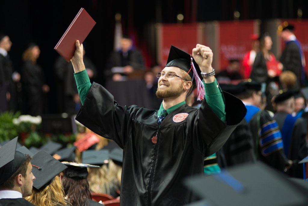 ISU grad celebrates