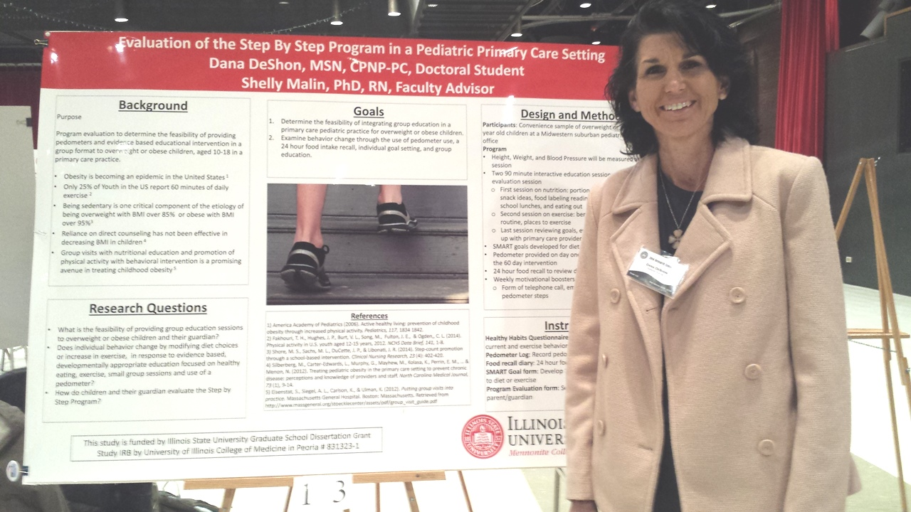 DNP Student Presents at Research Symposium