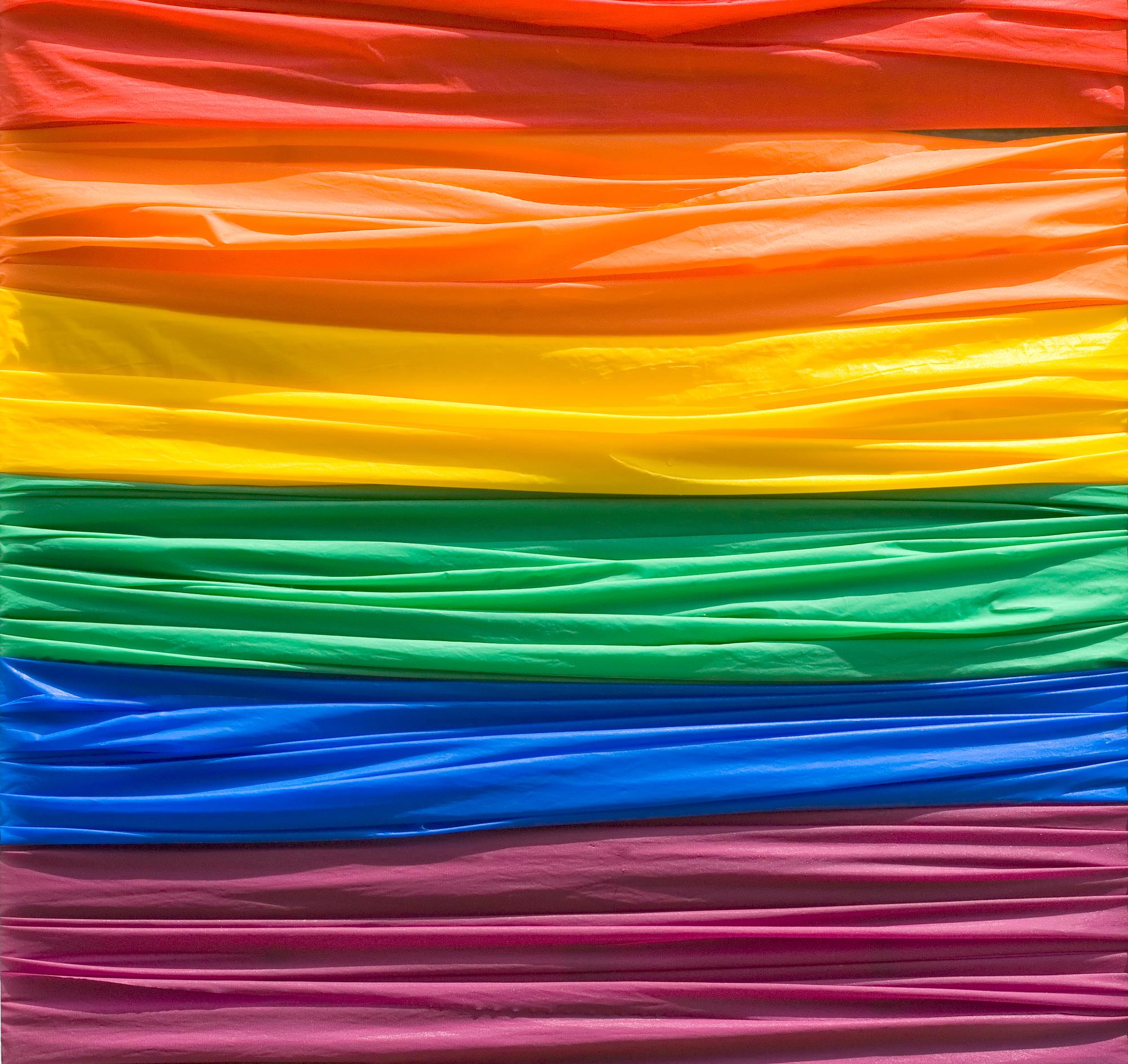 image of gay pride flag