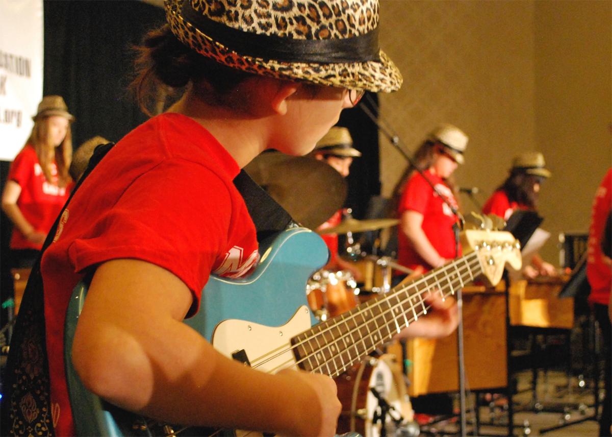 image of a Metcalf Jazz Band musician