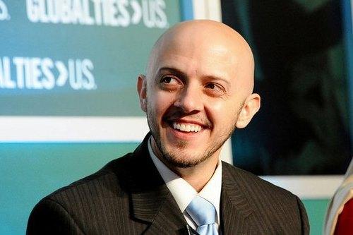 Daniel Wienecke smiles