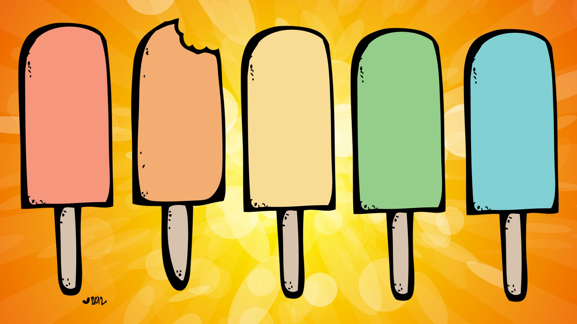 ice cream bars