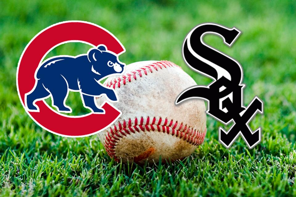Cubs and Sox logos