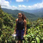 Bayza Senbetta poses in Costa Rica