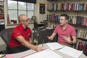Kyle Walsh chats with Erik Rankin