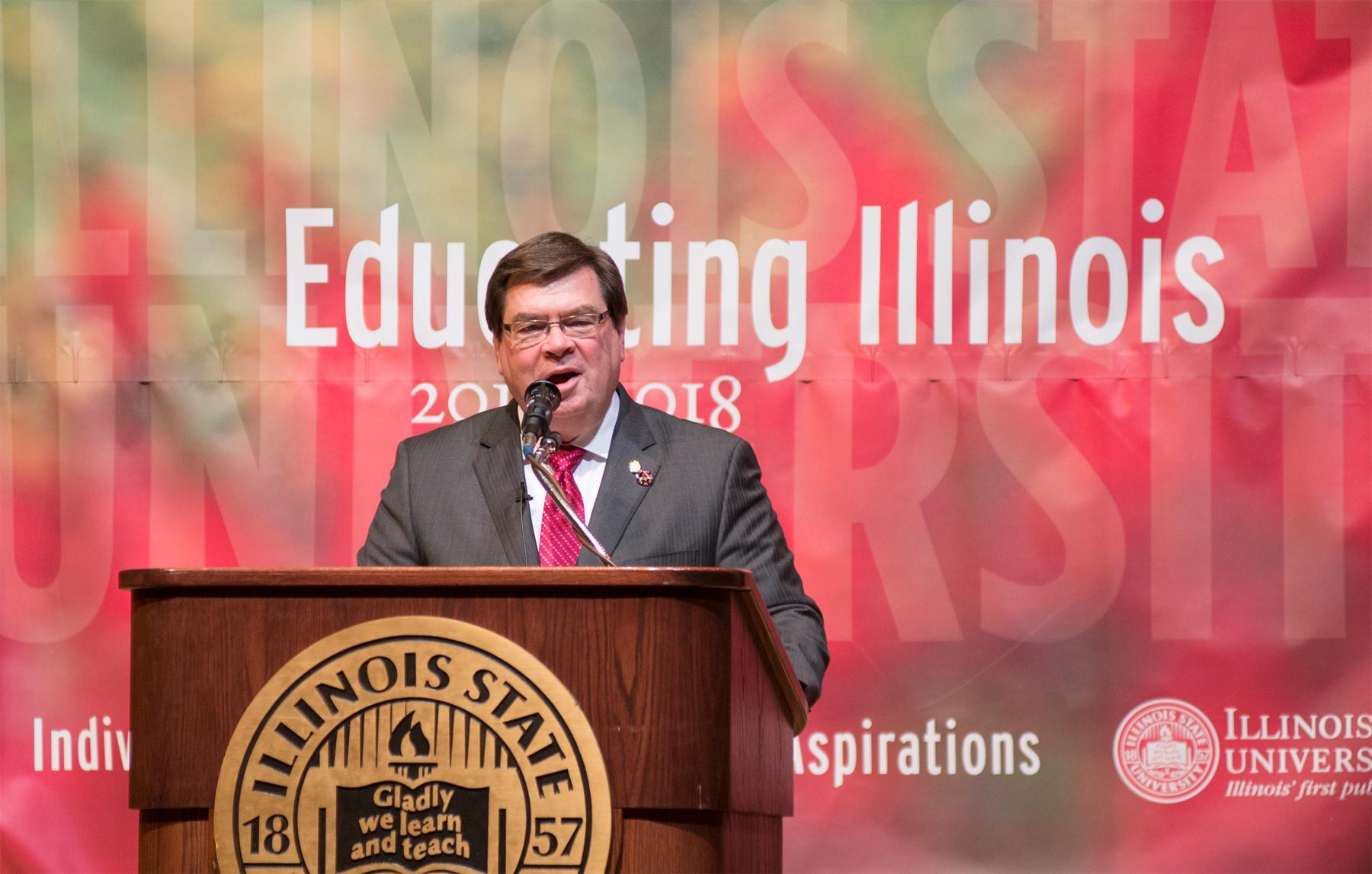 President Larry Dietz