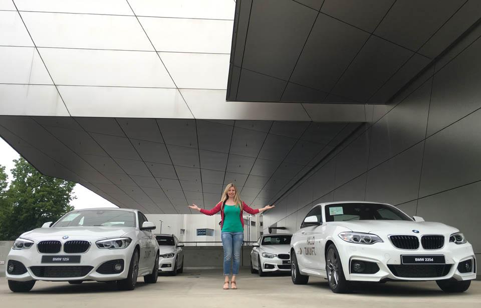 Ecaterina Dancenco at BMW