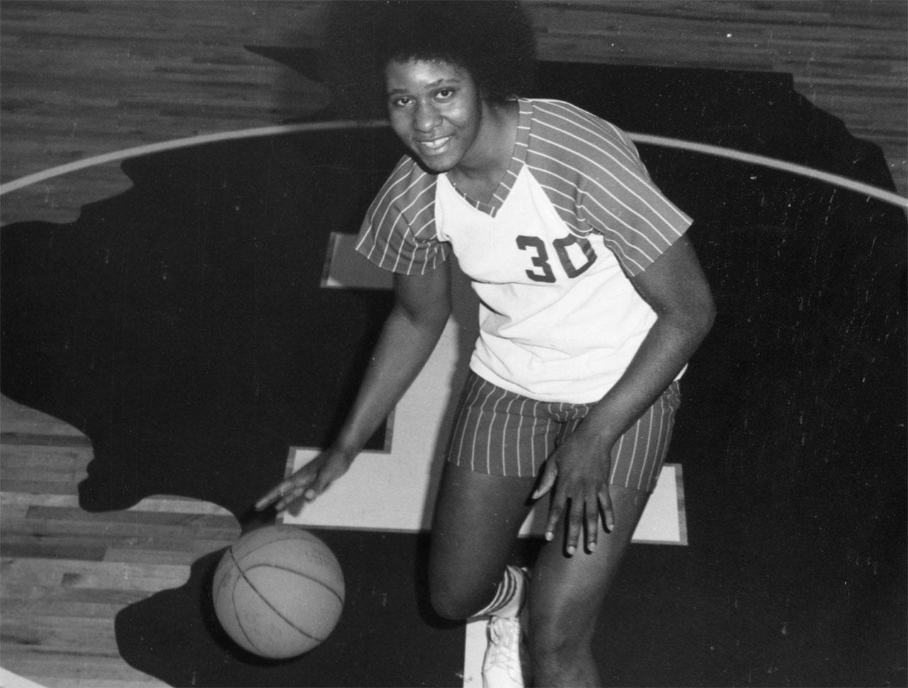 image of Former Redbird athlete Charlotte Lewis