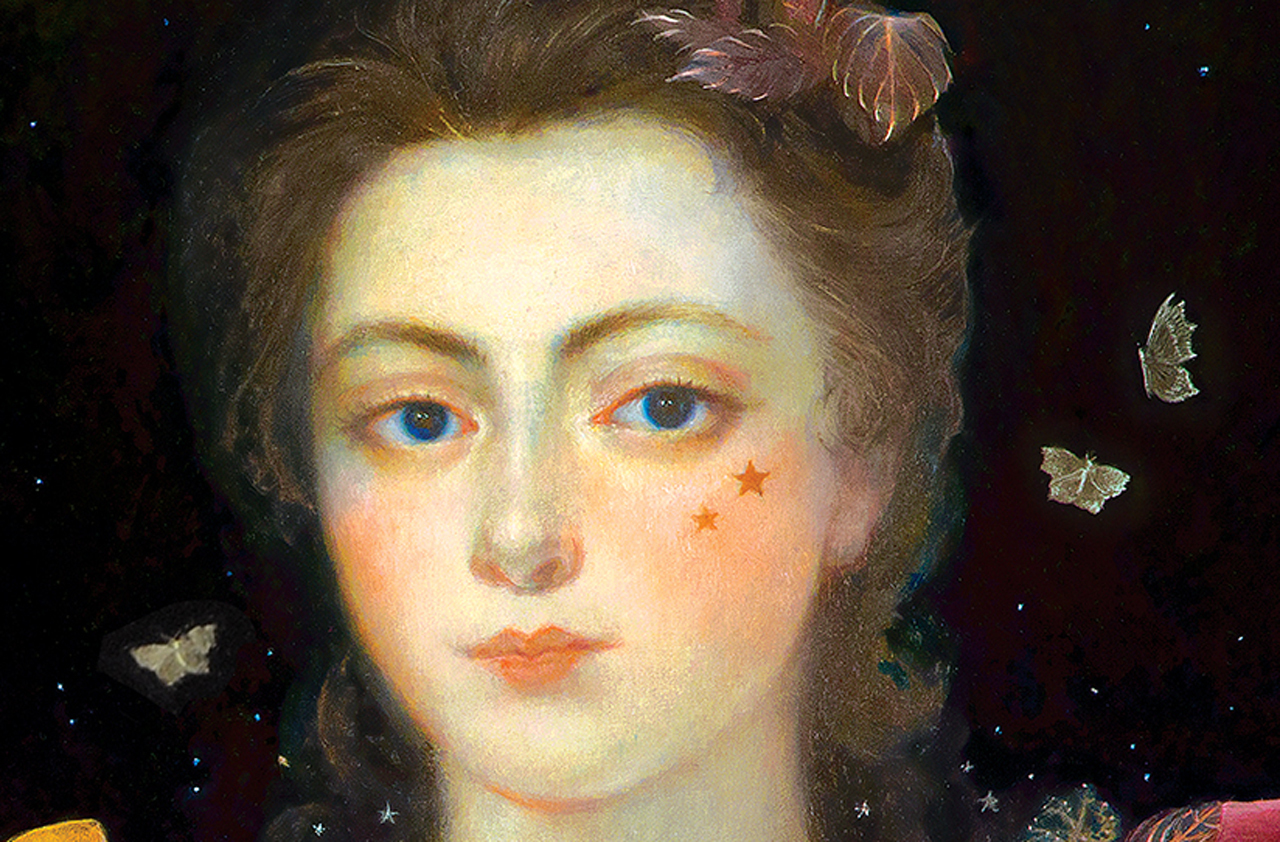 Image from the cover of the novel Margaret the First by Danielle Dutton.