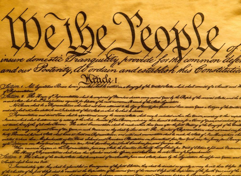 image of the U.S. Constitution