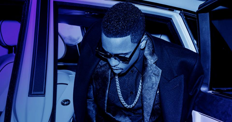 Image from the cover of Jeremih's album Late Nights