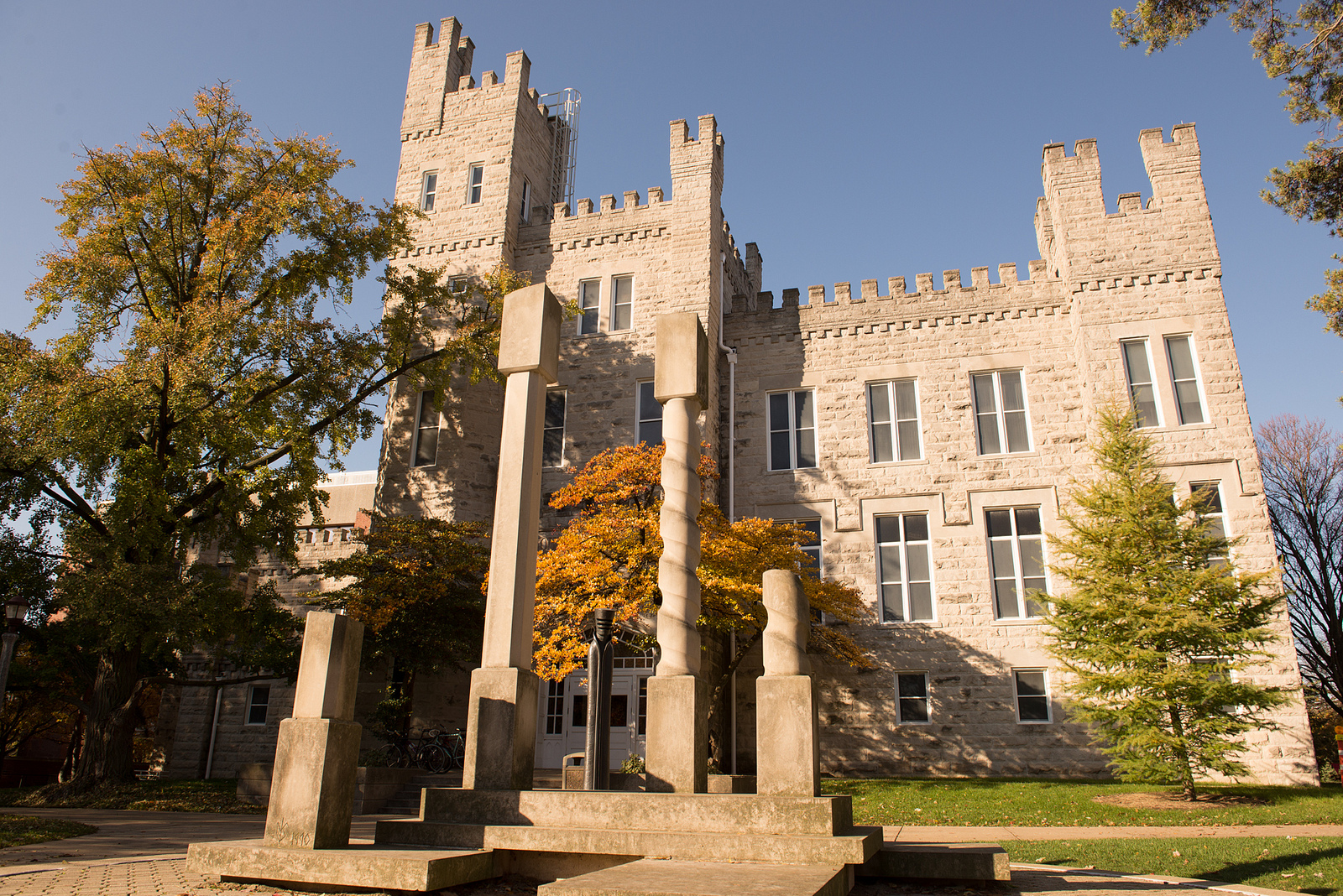 image of Cook Hall on the Quad of Illinois State University
