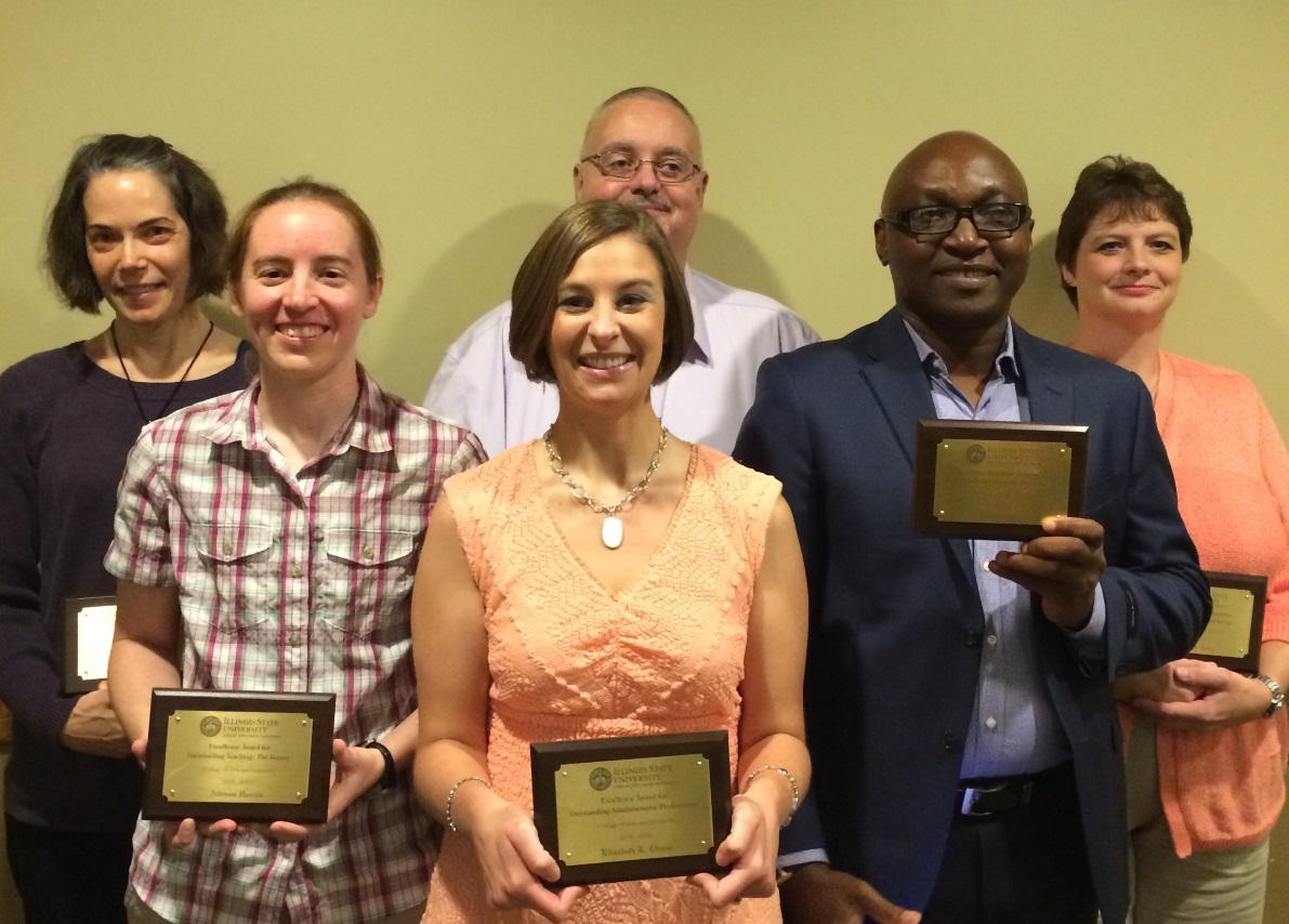 2015-2016 Excellence Award Winners