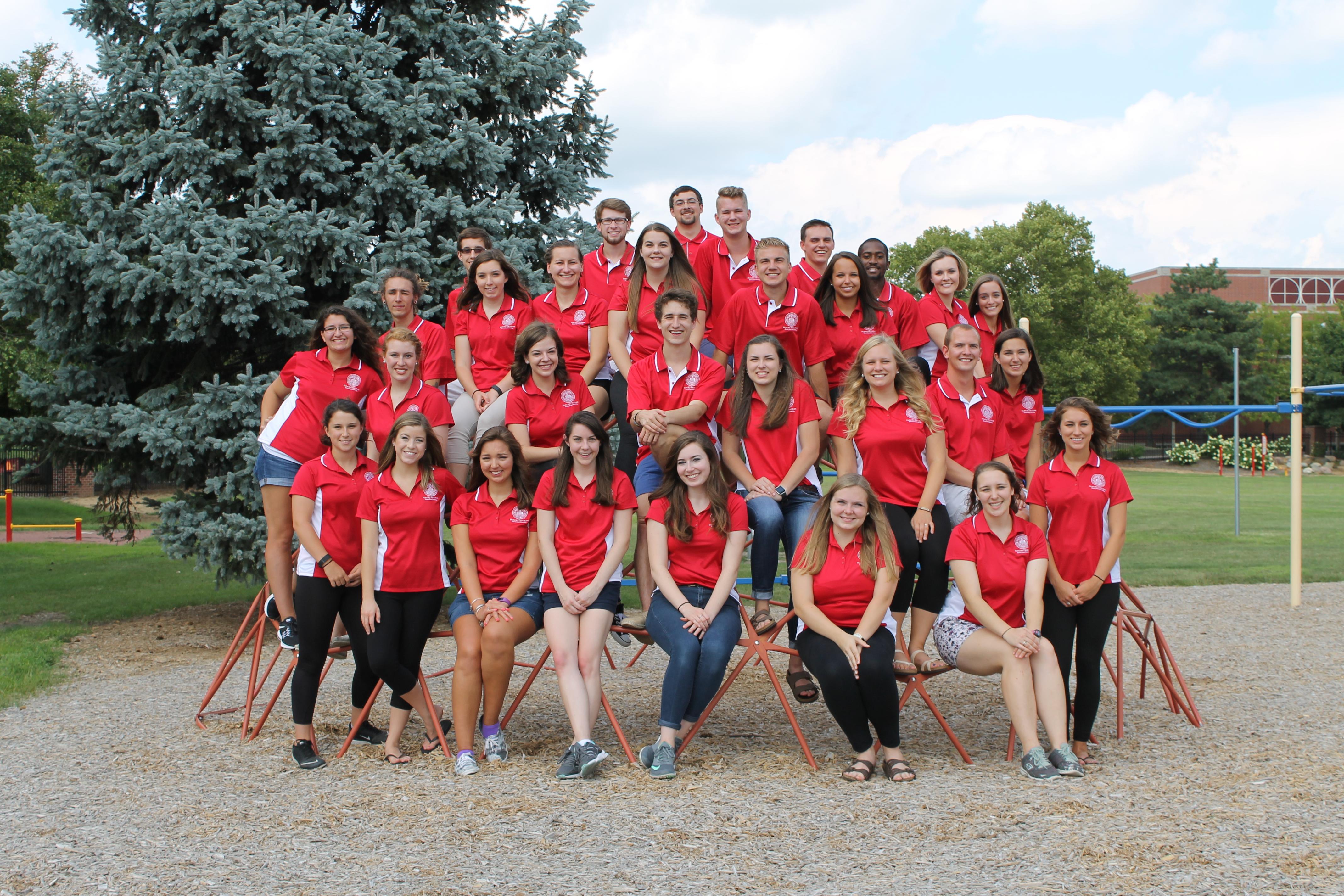 Honors Leadership Team Group Photo