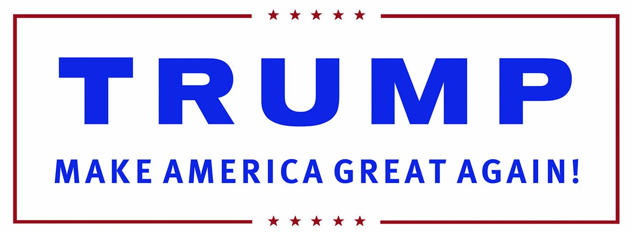 Donald Trump's campaign logo