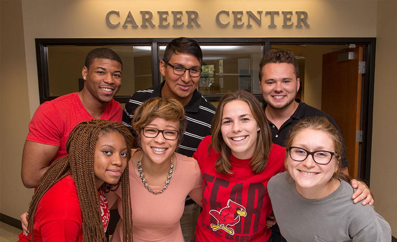 image of Career Center ambassadors
