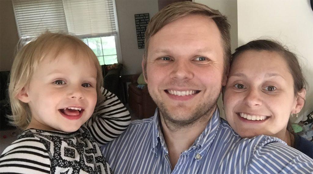 image of Alice, Ryan, and Theresa Denham