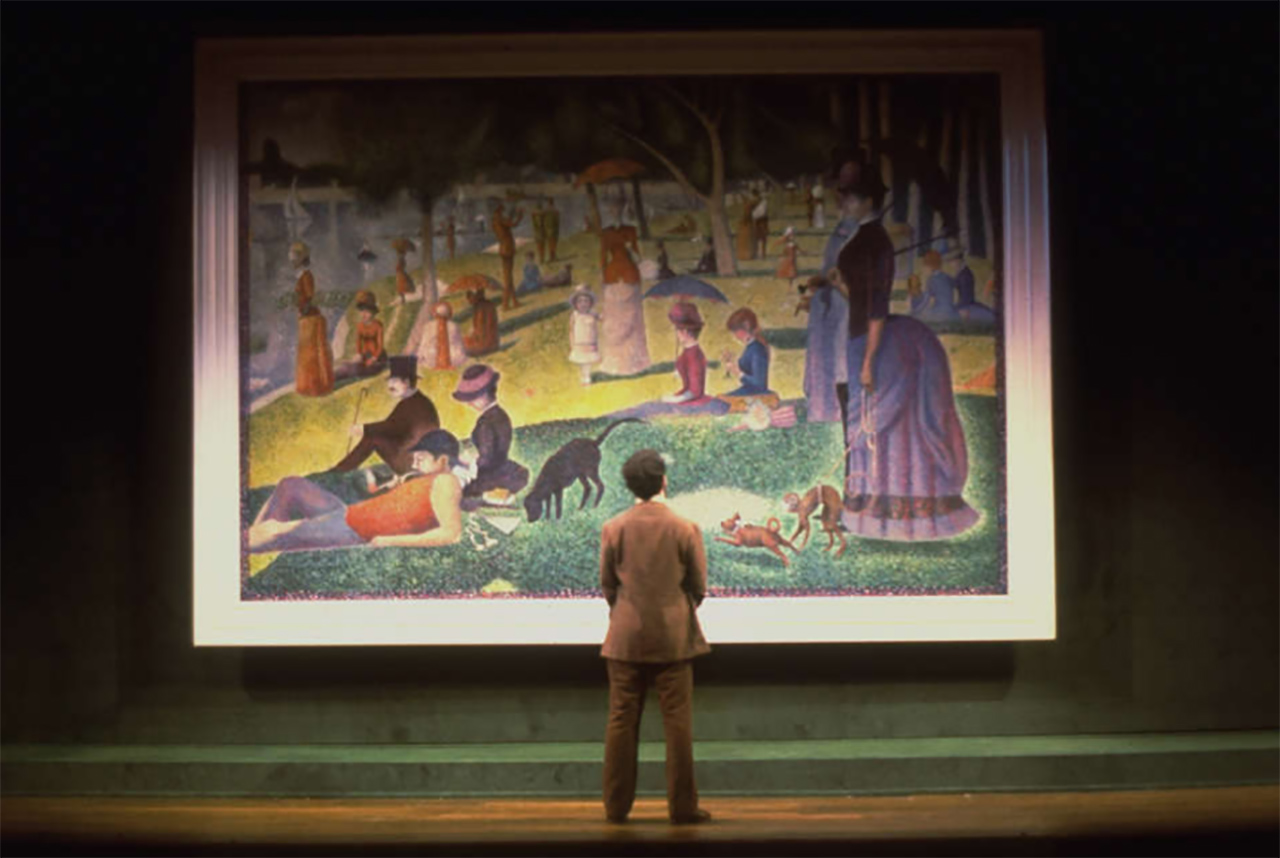 A scene from the musical Sunday in the Park with George.