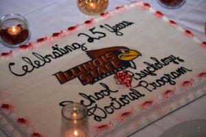 School psychology celebration cake