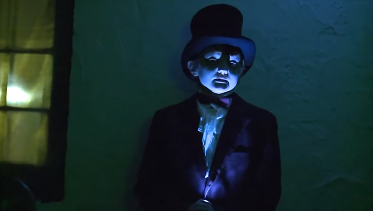 image of an actor portraying a character in the Shakesfear performance