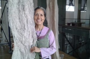 An image of Cecilia Vicuña from The Poetry Foundation.