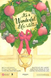 2016 It's a Wonderful Life poster