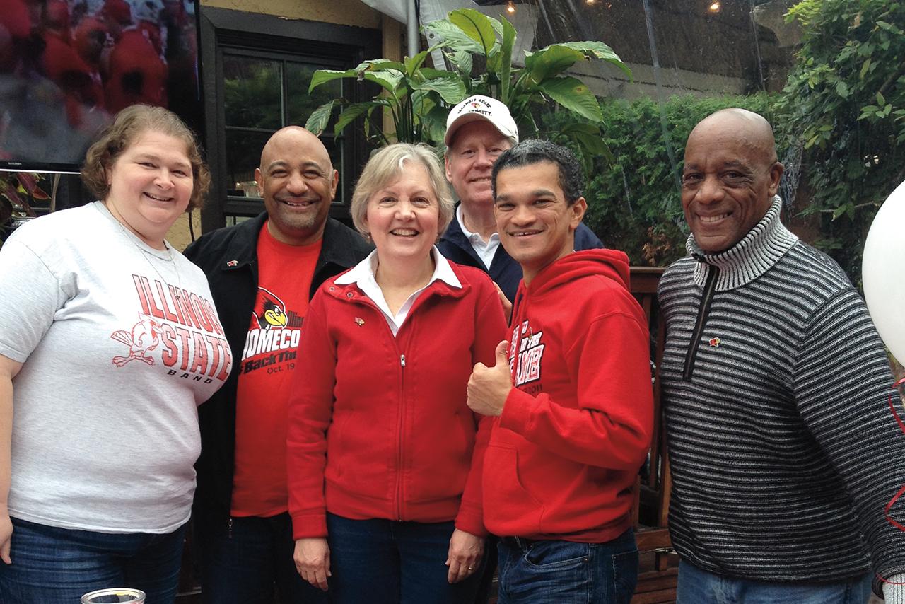 Members of Illinois State's Seattle alumni network