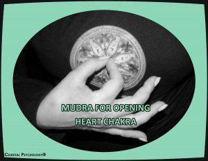 mudra for opening heart chakra