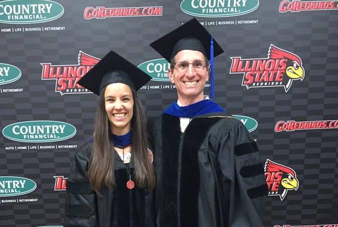 Lynda Kasky-Hernández, Ph.D. '16 and Jef Kahn, Ph.D. (PSY).