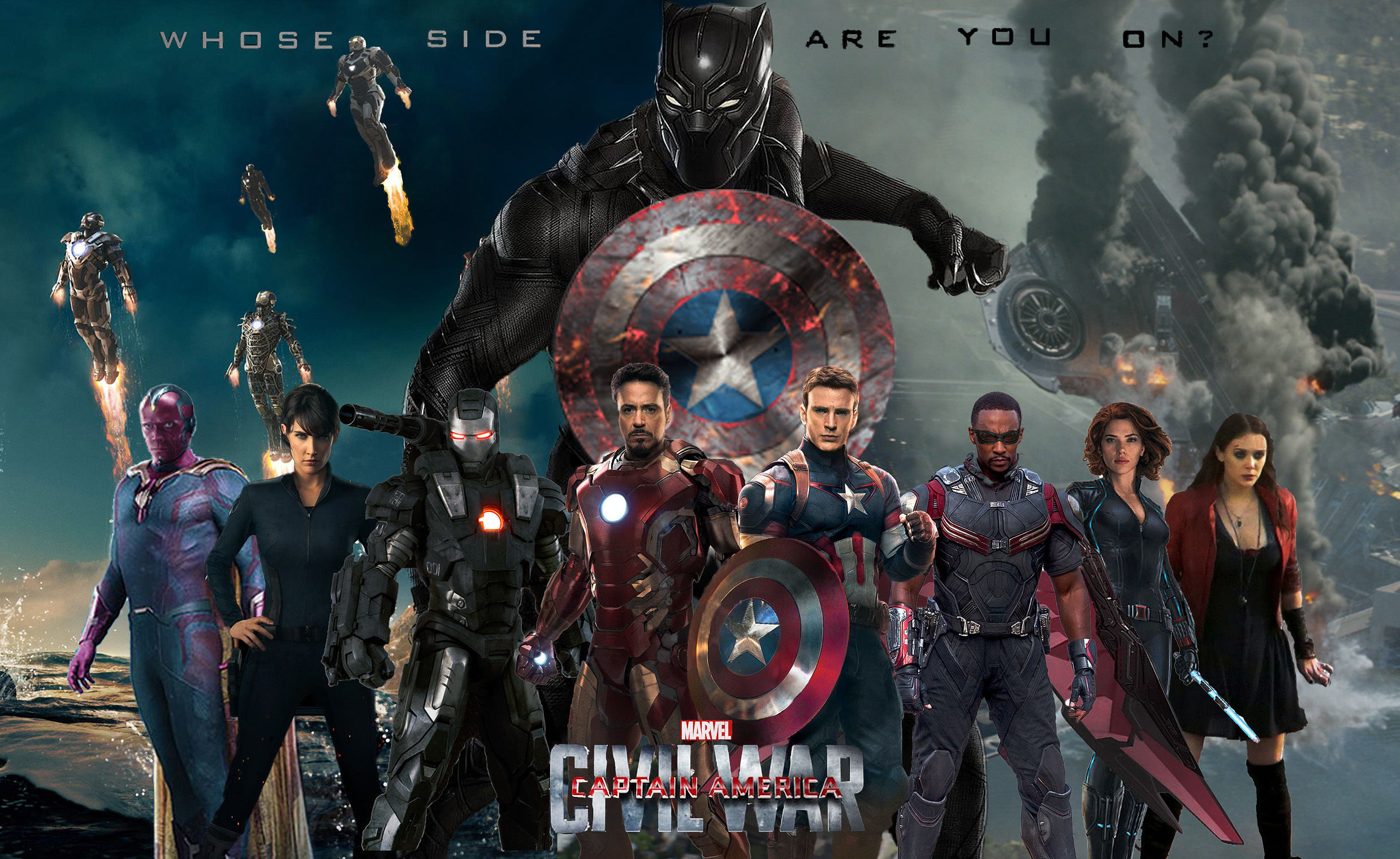 image of superheroes from Marvel comics