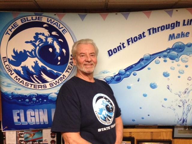 Master swimmer Roger Osborne