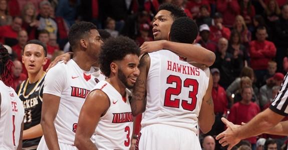 image of Redbird men's basketball