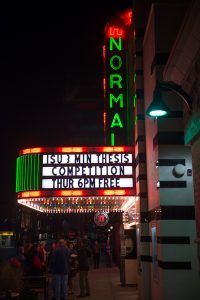 Normal Theater marquee