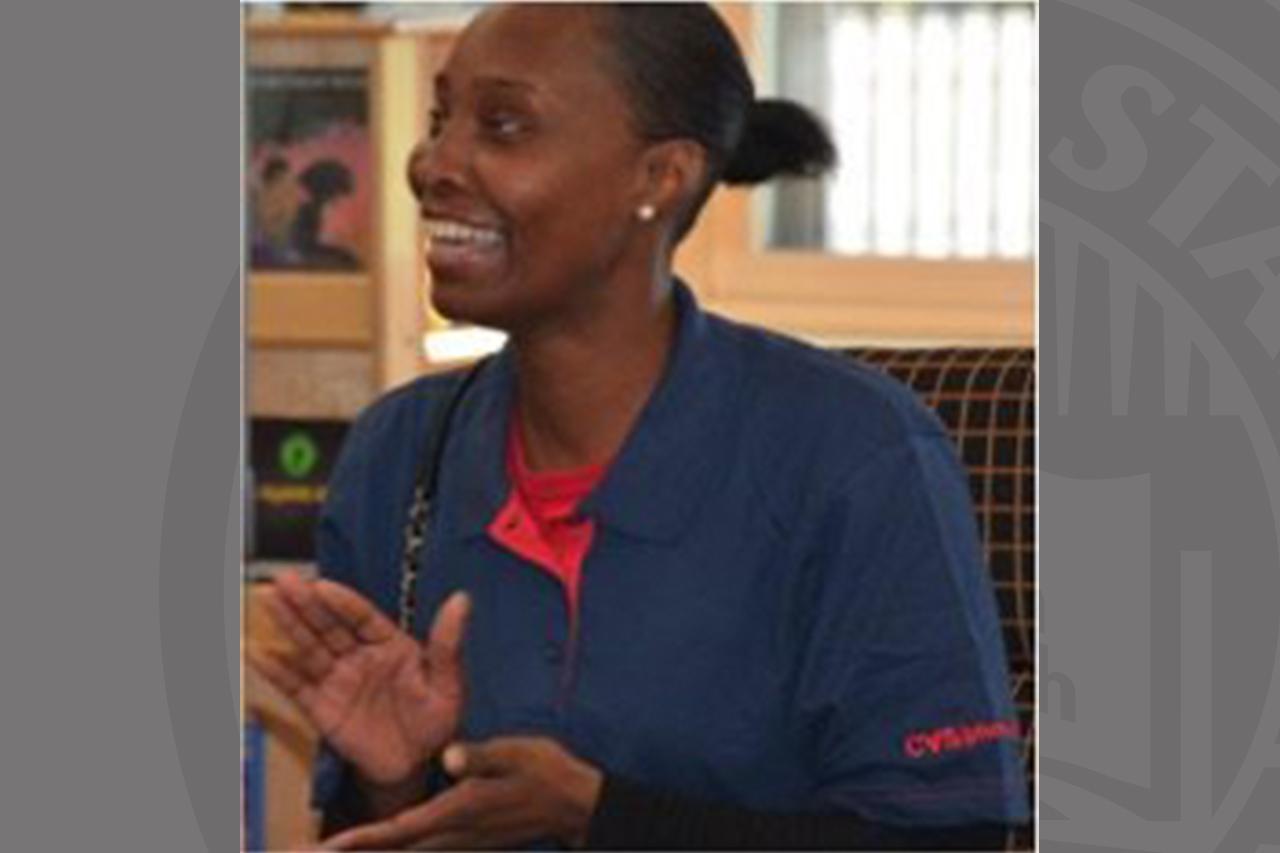 Dorcelle Johnson, Westcott parent room participant, now works with CVS Health.