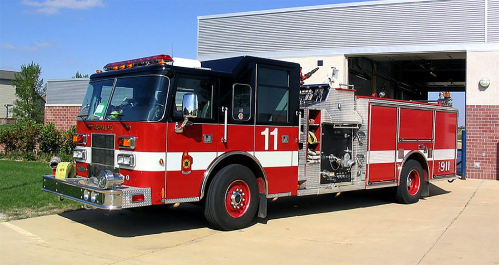 image of Normal Fire Department truck