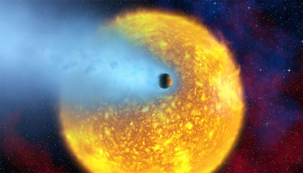 image of the Osiris exoplanet