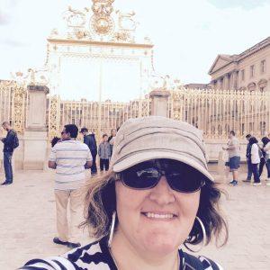 Audrey Irias poses for selfie