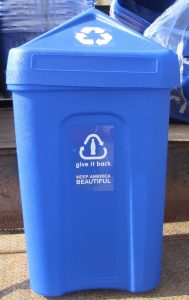 Image of a recycling bin from the Coca-Cola Company/Keep America Beautiful Award.