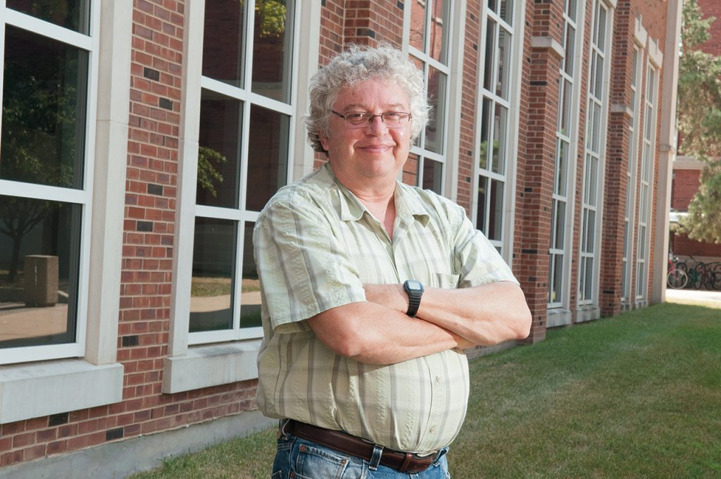 Distinguished Professor of Criminal Justice Ralph Weisheit outside on campus