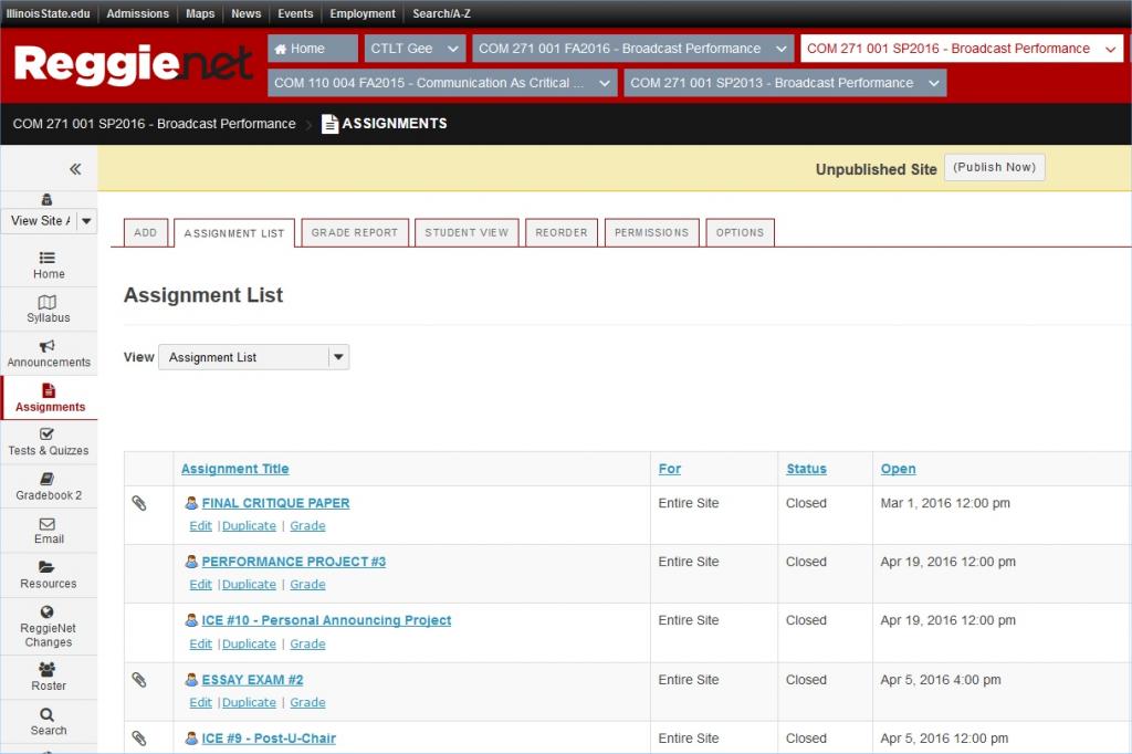 ReggieNet screenshot